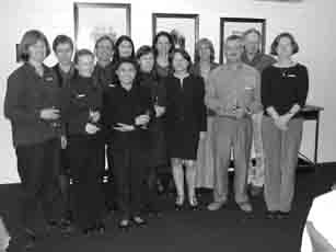 Figure 2. Participants at the OzFoodNet face-to-face meeting in Hobart, September 2001