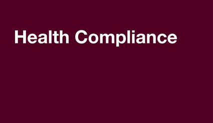Compliance for health professionals transferred to Health